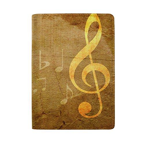(Ahomy Reisepasshalter, Varify Musical Note Premium Leder Reisepasshülle für Männer und Frauen)