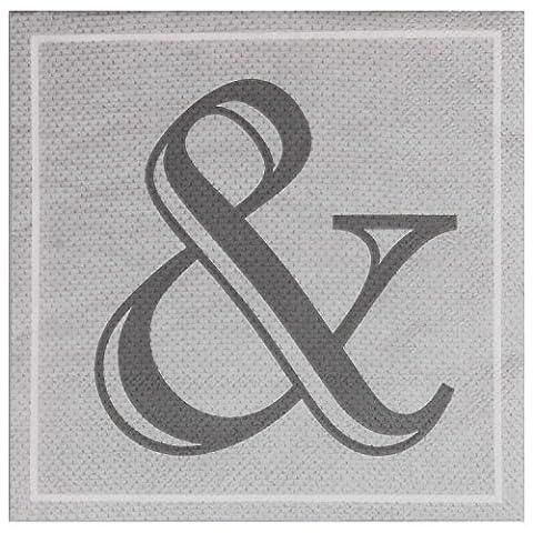 Table Decoration Paper Napkins with Value Pack (40Piece) Plus &