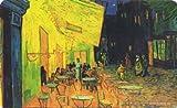 Fridolin 12226Van Gogh Café de Nuit Schneidebrett Melamin Mehrfarbig 23,5x 0,2x 14,5cm