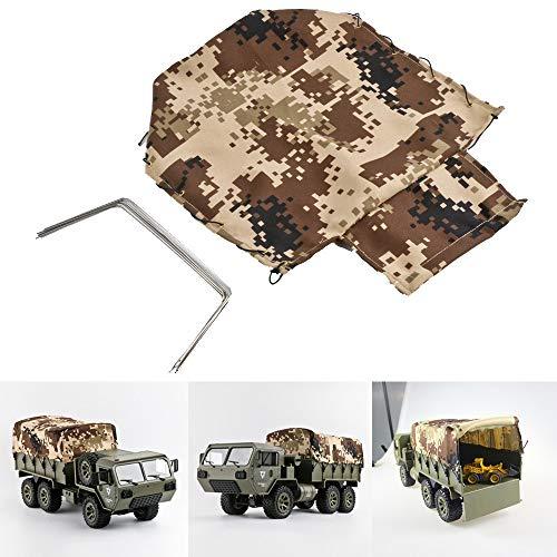 DingLong Autoschuppen Zelt für FY004/FY004A 6WD 1:16 RC Spielzeugauto, Haube für 2.4G Remote Control Cabrio Jeep Willy Off Road Truck Car