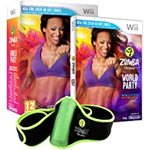 Zumba World Party - Bundle Pack With Belt Accessory [Importación Inglesa]