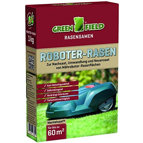 Greenfield Roboter-Rasensamen, 1 kg, grün
