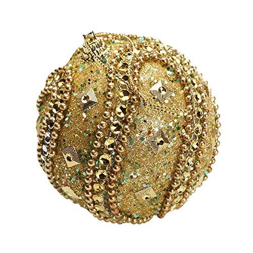 Vovotrade ❤ Home Decors Exquisite Artigianato Palle di Natale Sticky Diamond Beads Palle di Natale di Lusso