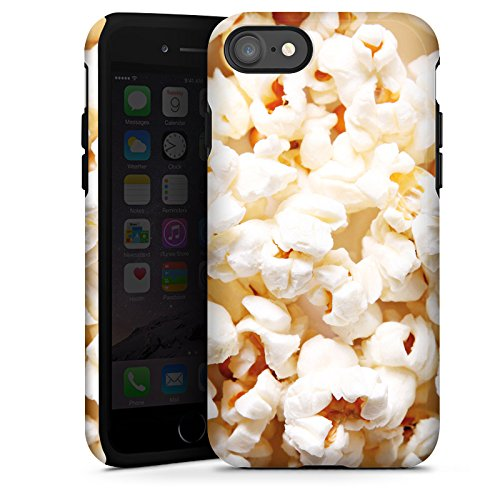 Apple iPhone X Silikon Hülle Case Schutzhülle Popcorn Kino Poppin Corn Tough Case glänzend