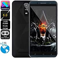 SO-buts Android Q6 Quad-Core-Smartphone, 6,0-Zoll-Touchscreen Vollbild, Dual-Karte Dual-Standby-Handy, maximale Speicher 32G, Dual HDCamera Wifi Bluetooth