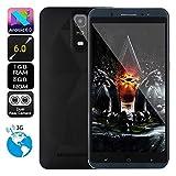 SO-buts Android Q6 Quad-Core-Smartphone, 6,0-Zoll-Touchscreen Vollbild, Dual-Karte Dual-Standby-Handy, maximale Speicher 32G, Dual HDCamera WiFi Bluetooth, (Schwarz)