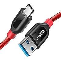 USB C Kabel auf USB 3.0 Anker PowerLine+ 90cm - [lebenslange Garantie] sehr Beständig für USB Typ-C Geräte Inklusive Galaxy S9, S8+, S8, MacBook, Sony XZ, LG V20 G5 G6, HTC 10, Xiaomi 5 und weitere (Rot)