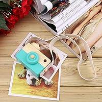 banbie8409 Cámara de Juguete de Madera Linda Encantadora Linda Creativa  Cuello de la cámara Accesorios de 931d3902cf2