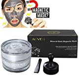VENMO Mineral Rich Magnetic Face Mask,Pore Deep Cleansing Removes Skin Impurities Blackheads Facial Cream Mask