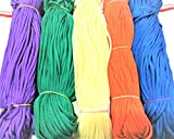 #4: 1mm Nylon Knot Cord Macrame Thread Cord Rope-Set of 5 Colours