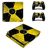 Ake Waterproof Vinyl Skin Protector Decals Sticker Aufkleber für PS4 Slim 2016 New Compact Models -no.0005