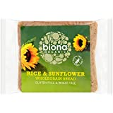 Biona Organic Rice Bread with Sunflower Seed 500 g (Pack of 3)