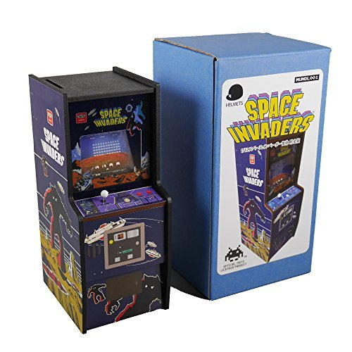 112 Space Invaders housing piggy bank Invaders goods retro coin bank A