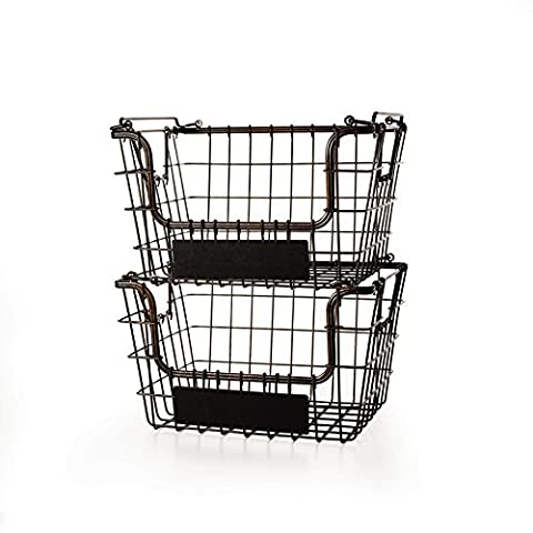 Mikasa Gourmet Basics High Quality and Durable, Handcrafted Steel Stacking