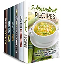 Cook it Quick Box Set (6 in 1): Over 180 5-Ingredient, Air Fryer, Vegan, Cast Iron, Special Holiday Recipes Made Quick and Easy (Quick and Easy Recipes) (English Edition)