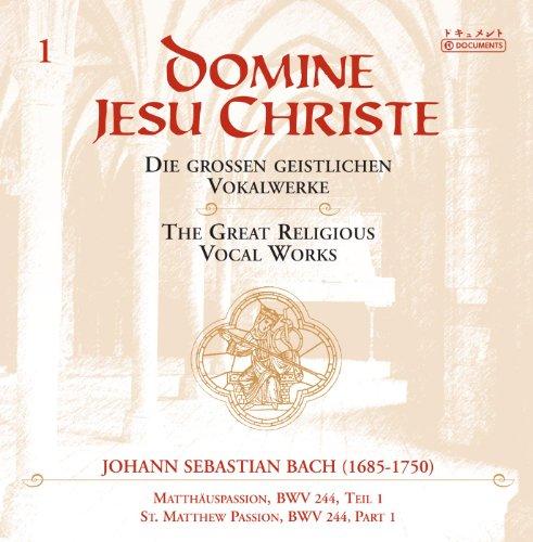 (St. Matthew Passion, BWV 244: Part I: Recitative: Petrus aber antwortete (Evangelist, Jesus, Petrus))