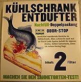 COLLO COLLO ODOR-STOP Kühlschrank Entdufter - Inhalt 2 Filter - NACHFÜLL-Pack Wirkzeit je Filter 2 M