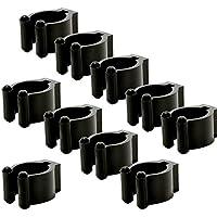 ZHUOTOP 10 soportes de clip para billar de tacos de billar, Small