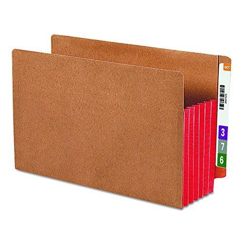 SMEAD 7469651/10,2cm EXP Datei Taschen, gerader Tab, Legal, rot (Box Of 10) (Registerkarte Datei-ordner Tasche)