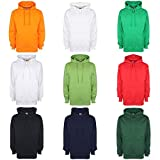 #9: FDM Unisex Plain Original Hooded Sweatshirt/Hoodie (300 GSM)