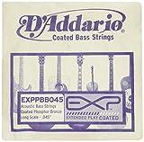 """D'Addario EXPPBB045 EXPXB045SL EXP Einzelsaite für Bassgitarre, mit Nickel beschichtetem Runddraht umsponnen (""""roundwound"""").045"""