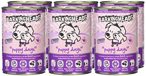 Barking Heads Wet Fat Dog Slim Dog Food Tins, Pack of 6 2