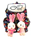 #6: Deal Especial new stylish Bunny backpack Multicolored colors bag gift & sales 213P