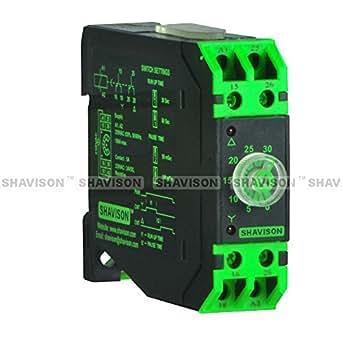 Shavison Analog Timer TAON-60S-415AC , On Delay, Economy , Supply : 415VAC