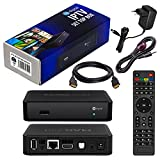 MAG 250 Original Infomir & HB-DIGITAL IPTV SET TOP BOX Streamer Multimedia Player Internet TV IP Receiver + HB Digital HDMI Kabel + IR Infrarot Adapter