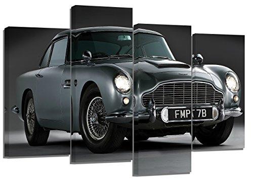 aston-martin-db5-3-set-of-4-new-canvas-split-prints-32x-20