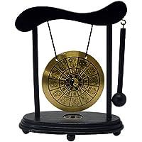 Zen Art Brass Feng Shui Desktop Gong de signo del zodiaco con libre rojo cadena pulsera W3359