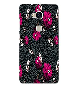 HUAWEI HONOR 5X FLOWERS Back Cover by PRINTSWAG