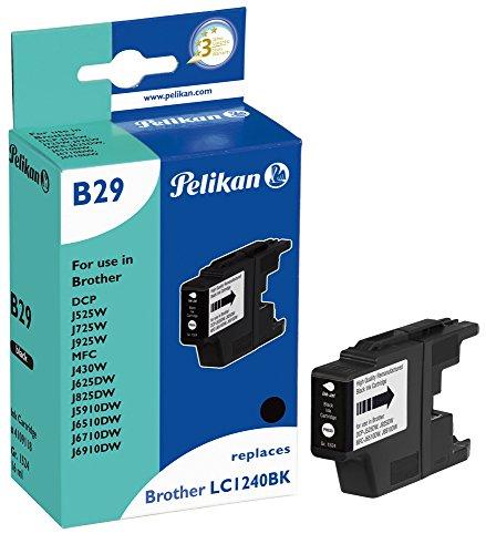Preisvergleich Produktbild Pelikan Druckerpatrone B29 ersetzt Brother LC1240BK, Schwarz