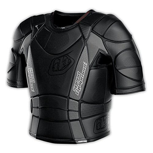 Troy Lee heißem Wetter kurzärmliges Shirt UPS 7850, Schwarz (2015) schwarz schwarz