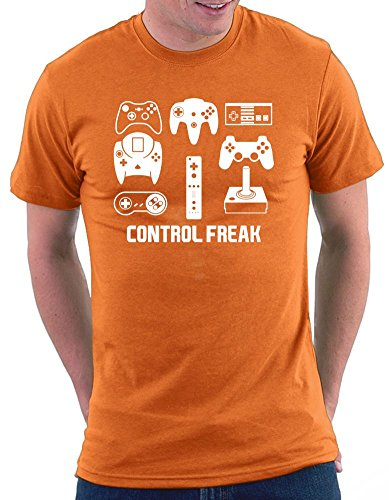 Control Freak T-shirt Orange