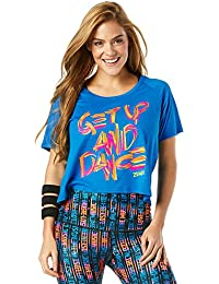 Zumba Women s Get Up and Dance T-Shirt 04793c96207