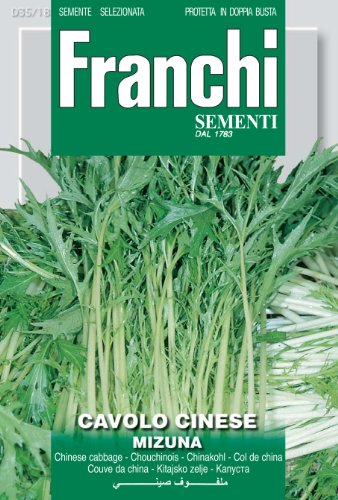 Seeds of Italy Ltd Franchi Mizuna