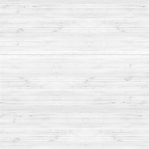 YongFoto 1,5x1,5m Vinyl Foto Hintergrund Holzboden Weißes Hölzernes Rustikales Hölzernes Holz Brett Fotografie Hintergrund für Photo Booth Baby Party Banner Kinder Fotostudio Requisiten