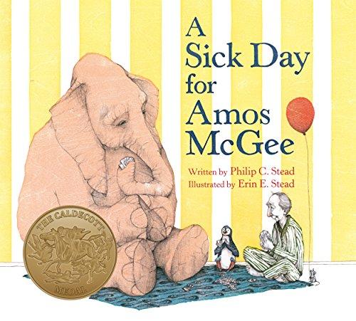 A Sick Day for Amos McGee por Philip C. Stead