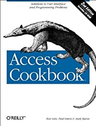 By Ken Getz Access Cookbook: Solutions to Common User Interface & Programming Problems (2nd Edition) [Paperback]