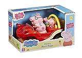 Peppa Pig - Buggy y su familia, color rojo (Bandai 05591)