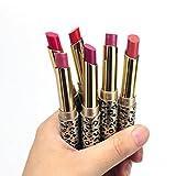 12PCS Rouge à LèVres, Rawdah Lipsticks Lip Stain Maquillage Lot Leopard Hydratant Lipstick Set