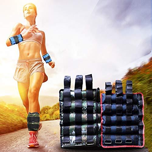 GuoBomatealliance Sports&Entertainment Sport & Unterhaltung EIN Paar verkaufende Fitness-Ladegeräte Knöchelgewichte Gamaschen-Sandsäcke, verstellbare unsichtbare Laufsport-Sandsäcke, Gewicht: 10 kg