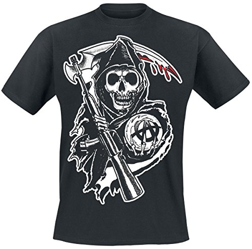 Sons Of Anarchy Reaper Crew T-shirt noir XL