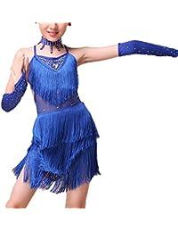 Niñas de Ballet Latino Vestido Borla De Baile De Los Ninos Traje De Dancewear Ropa 1
