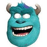 Procos - Máscara para disfraz infantil Monster University Monstruos, S.A. unisex a partir de 3 años (71415)