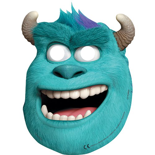 Disney Monsters University Party Masken, (Masken Monster)