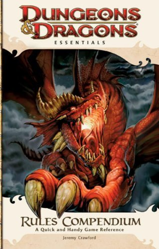 Rules Compendium: An Essential Dungeons & Dragons Compendium (4th Edition D&D) by Wyatt, James, Collins, Andy, Heinsoo, Rob, Crawford, Jeremy (2010) Paperback