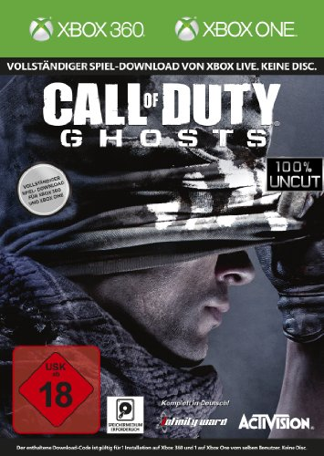 Call of Duty: Ghosts [Download - Code, kein Datenträger enthalten] - [Xbox One/ Xbox 360] - Ghosts Xbox Of One Duty Call