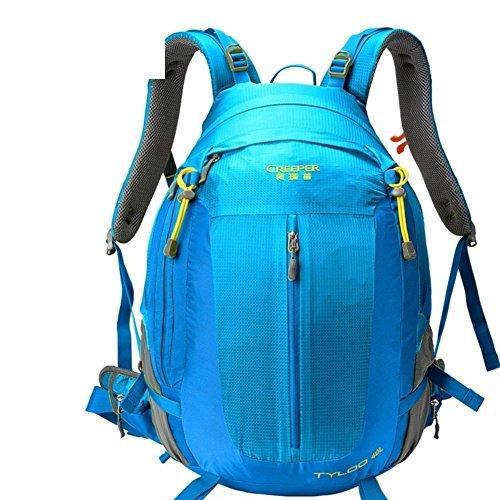 Sincere® Package / Sacs à dos / Portable / Ultraléger Mode sport sac à dos / sac d'alpinisme / extérieur Voyage sac à dos / sac suspension respirant / hydrofuge bleu 50L